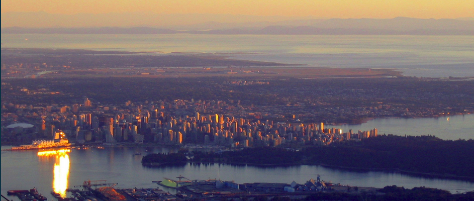 Lower Mainland skyline